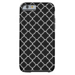 Geometric quatrefoil tough iPhone 6 case