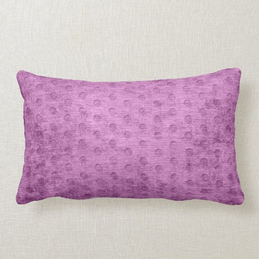 Geometric Radiant Orchid Faux Chenille Texture Throw Pillows