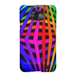 Geometric Rainbow Spectrum Designer Modern 1 Samsung Galaxy SII Cases