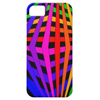 Geometric Rainbow Spectrum Designer Modern 1 iPhone 5 Cases