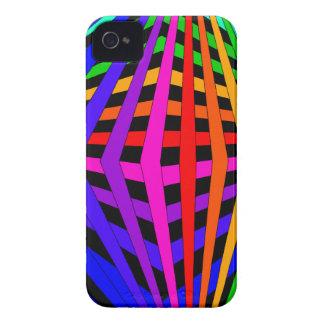 Geometric Rainbow Spectrum Designer Modern 1 Case-Mate iPhone 4 Cases