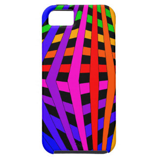 Geometric Rainbow Spectrum Designer Modern 1 Cover For iPhone 5/5S