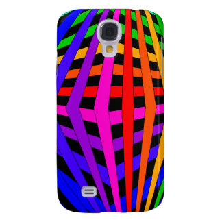 Geometric Rainbow Spectrum Designer Modern 1 HTC Vivid Cover
