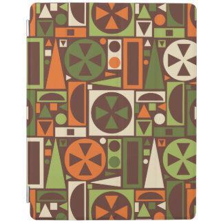 Geometric Retro 50s Mid-Century Modern Abstract iPad Cover