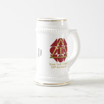 """Geometric Rose"" 50th Anniversary 22 oz Stein"
