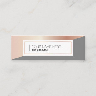 Rosegold Business Cards Business Card Printing Zazzle