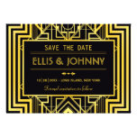 Geometric Save the Date Cards