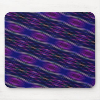 Geometric Series 2 in Purple Mouse Pad