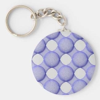 Geometric Shape Keychain