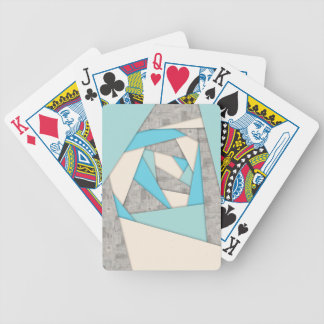 Geometric Shapes Abstract Bicycle Playing Cards
