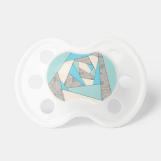 Geometric Shapes Abstract Pacifier