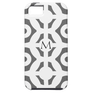 Geometric Shapes and Customizable Monogram iPhone 5 Covers