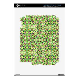 Geometric shapes and pattern iPad 3 skins