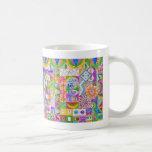 Geometric Shapes Collage Mugs