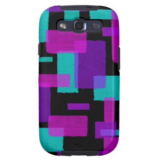 Geometric Shapes Galaxy S3 Cover