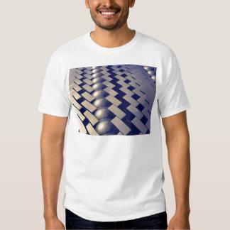Geometric Shapes of Gold Shirt