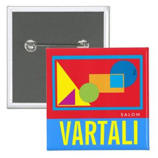 Geometric Shapes Vartali Square Button