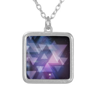 Geometric Silver Plated Necklace
