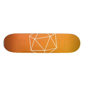 Geometric skateboard cover