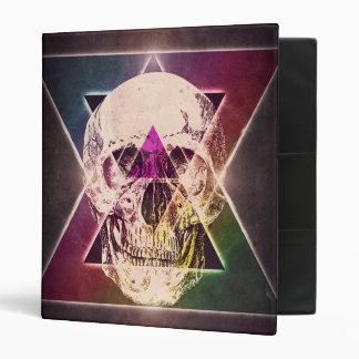 Geometric skull binder