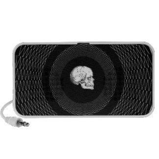 Geometric Skull Design Portable Speakers