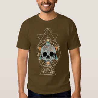 Geometric Skull Free Will Song Graphic Art Shirt