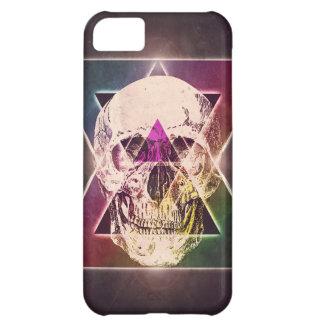 Geometric skull iPhone 5C case