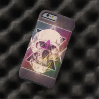 Geometric skull tough iPhone 6 case