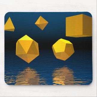 Geometric Solids Mouse Pad