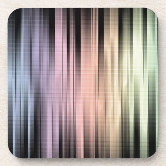 Geometric Spectral Abstract Beverage Coaster