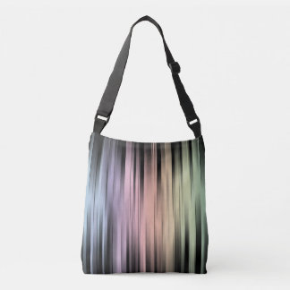 Geometric Spectral Abstract Crossbody Bag