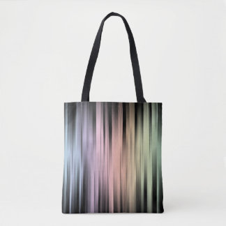 Geometric Spectral Abstract Tote Bag