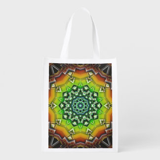 Geometric Spectral Construct Grocery Bag