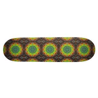 Geometric Spectral Construct Skateboard Deck