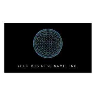 Geometric Sphere Business Card