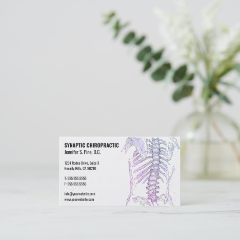 Geometric Spine Chiropractic Business Cards