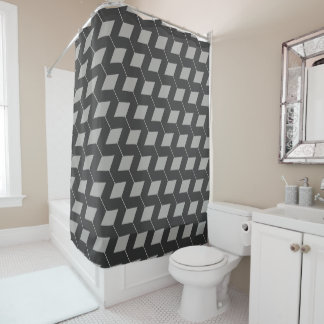 light gray shower curtain. Geometric Squares Light Gray  amp Dark Shower Curtain Curtains Zazzle