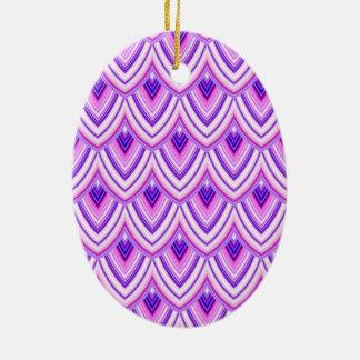 geometric standard ceramic ornament
