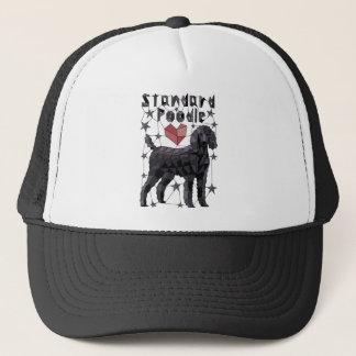 Geometric Standard Poodle Trucker Hat