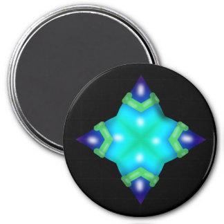 Geometric Star Fridge Magnets