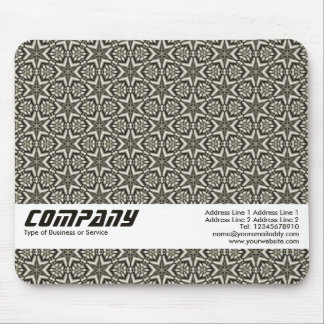 Geometric Stars Abstract, Business Mouse Pad