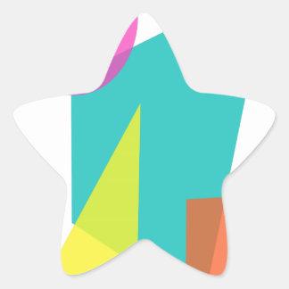 Geometric Sticker