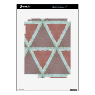 Geometric Stone Wall Decals For The iPad 2