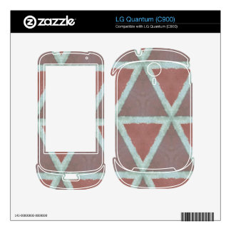 Geometric Stone Wall Decal For The LG Quantum