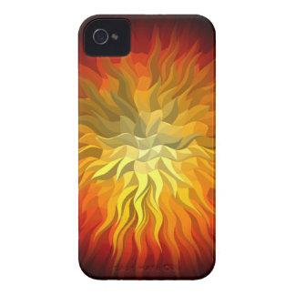 geometric sun 76x76 iPhone 4 cover