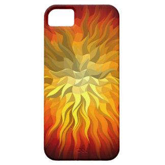 geometric sun 76x76 iPhone SE/5/5s case