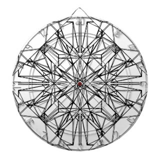 geometric symmetry dartboard