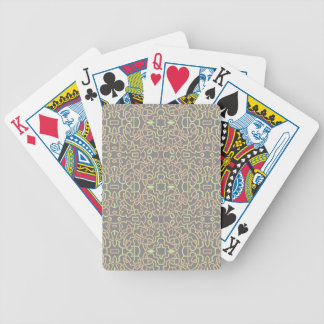 Geometric Tangle Celtic Pattern Bicycle Playing Cards