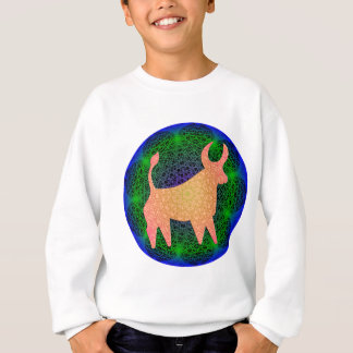 Geometric Taurus Designs Sweatshirt