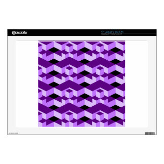 geometric texture skins for laptops